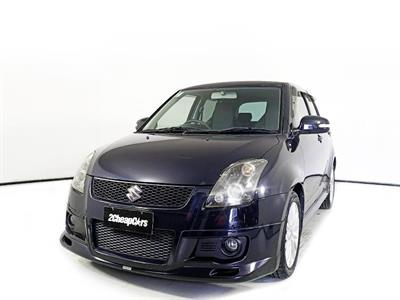 2007 Suzuki Swift Sport Manual